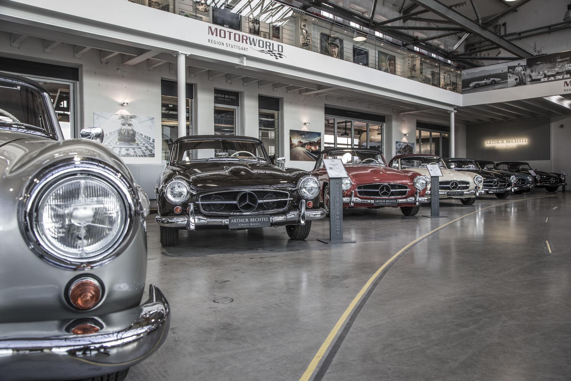 Arthur Bechtel Classic Motors in der Motorworld